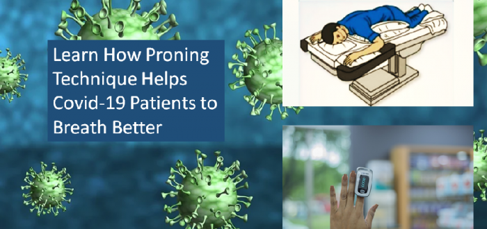 Proning Helps Covid-19 Patients Breath Easily at Home