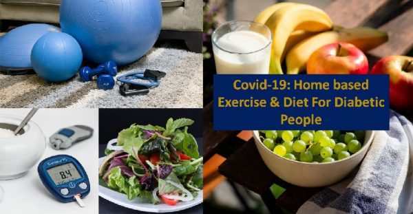 Diet & home exercises for diabetes